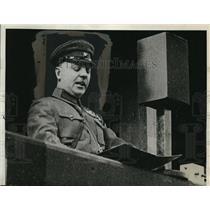 1930 Press Photo Moscow, Russia Soviet War Minister Clementy Voroshilof