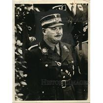1934 Press Photo Captain Ernest Roehm - nem34708