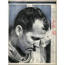 1963 Press Photo Faith 7 astronaut Gordon Cooper at Cape Canaveral - nem34712