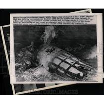 1964 Press Photo United Republic MIG jet fighters shot - RRX80403