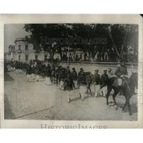 1928 Press Photo Partial mobilization Paraguayan gun - RRX79121