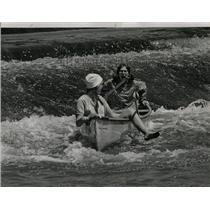 1967 Press Photo 10th Annual Des Plaines Canoe Marathon