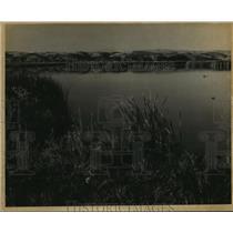 1987 Press Photo South Dakota's Missouri River Valley - mja85176