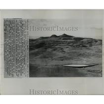1958 Press Photo Two Top Peak is the geographical center of the United States