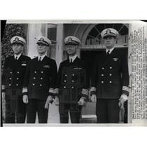 1939 Press Photo Navy Board starting Squalus Inquiry - RRX69057