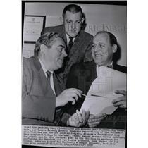 1958 Press Photo Roy Hamey, Philadelphia Phillies GM - RRX74979
