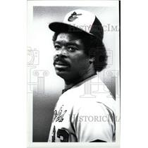 1989 Press Photo Eddie Murray Baseball Players - RRW73805