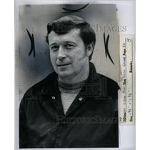1974 Press Photo Basketball Coach Ralph Grubb Detroit - RRX58841