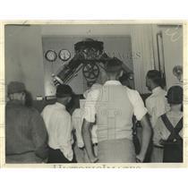 1933 Press Photo Hall Of Science At World Fair - RRW53473
