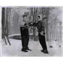 1959 Press Photo Skiing Lesson Dianne Martin - RRW02797