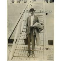 1925 Press Photo Major John A. Smith, Lawyer in Puerto Rico for united States