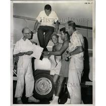 1959 Press Photo Pan American Games Skippers Naval - RRW24747