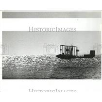 1984 Press Photo Benoist plane over Tampa Bay FL - RRX84821