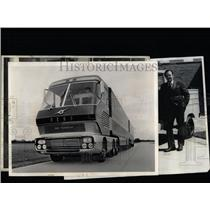 1972 Press Photo William Bourke Ford Motor Company - RRW59837