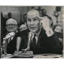 1966 Press Photo General James Gavin Vietnam