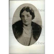 1929 Press Photo Mrs John Bonden Author - RRX44907