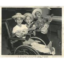 1959 Press Photo PanAmerican Games Childrens Memorial - RRW52169