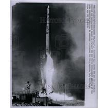 1960 Press Photo Discover XIX Agena Satellite Air Force - RRX57653