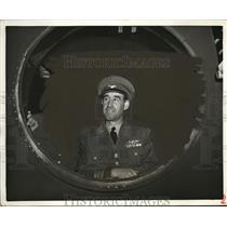 1943 Press Photo Col Francisco Graviere Lopez Inspector General of Portuguese