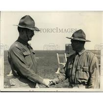 1931 Press Photo Col Osmun Latrobe & Sgt Reginald Herin marksman of Natl Guard
