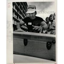1986 Press Photo JIM HAMILTON  ASPEN AIRWAYTS PILOT