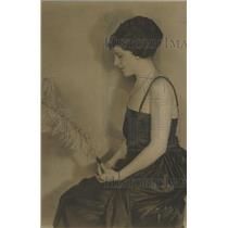 1930 Press Photo Society Woman Noonan Glenwood Denver - RRX87561