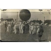 1918 Press Photo US Navy Sports - nem38193