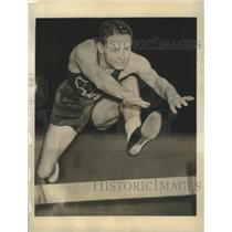1936 Press Photo SamAllen 120-Yard Hurdle Champion New York Athletic Club