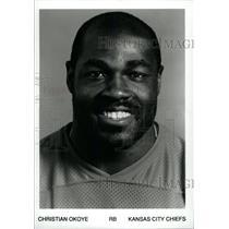 Press Photo Christian Emeka Okoye Kansas City Chiefs - RRW80661