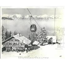 1962 Press Photo Colorado and the Gondola Makes News