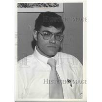 1976 Press Photo Seahawks football club official, Vince Lombardi - sps08501