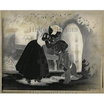 1975 Press Photo Disney Cartoon Characters Snow White - RRX61291