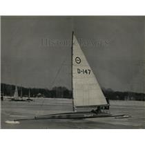 1949 Press Photo E Millenbach Renegade II Regatta Champ - RRW64405