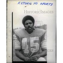 Press Photo Ray Jarvis American football Detroit Lions - RRX39375