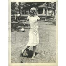 1929 Press Photo Virginia Vilas, Western Women's Champion in golf - sbs08067