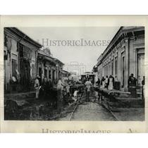 1932 Press Photo San Salvador Streets Aristocracy Mich - RRX61371