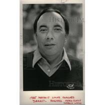 1988 Press Photo Detroit Lions Coaches Darrel Rogers - RRX39383