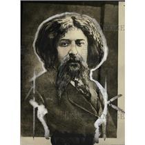1927 Press Photo Alphonse Daudet Author Novelist - RRW82767