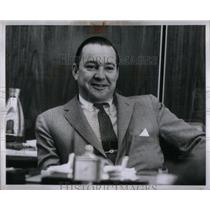 1962 Press Photo William Clay Ford Detroit Lions Owner - RRX56497