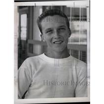 1958 Press Photo Rollins Bradley Sport Jockey Start - RRW74351