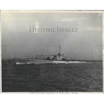 1931 Press Photo Navy Ship N-1 formerly V-5 or Norwahl - RRX99321