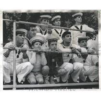 1967 Press Photo Ken Haselsteiner Borrow Sailor Soccer - RRX81849