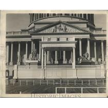 1925 Press Photo Grandstand in front of Capitol where Calvin Coolidge take oath