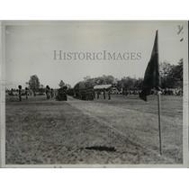 1932 Press Photo Governor General of Canada Reviews Troops - nem40860