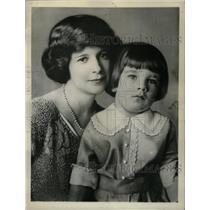 1929 Press Photo Florence Lawlor Leeds Jay Stillman - RRW18605