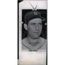 1945 Press Photo Bob Swift Catcher Detroit Tigers - RRX39101