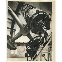 1931 Press Photo telescope at Perkins Observatory at Wesleyan University