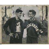 1950 Press Photo Michigan Wisconsin four-mile event - RRX97943