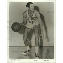 1975 Press Photo Jim Barnett, Rookie for Boston Cletics - nox04769