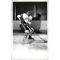 1973 Press Photo Rob Palmer Hockey University Denver - RRW73889